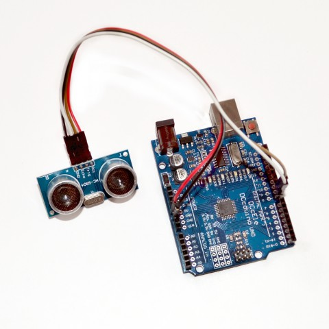 HC-SR04 ultraheli vahemaa andur arduinoga