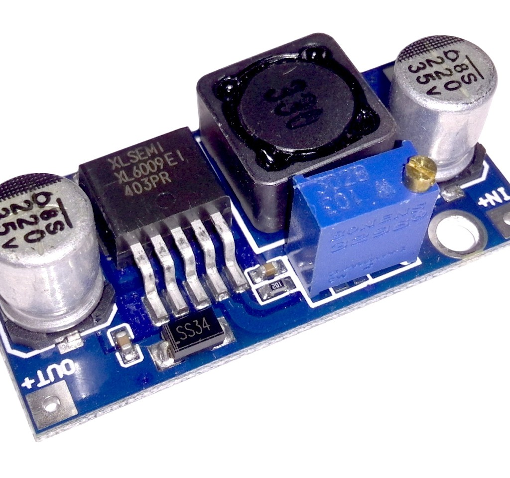 xl6009 step-up voltage regulator