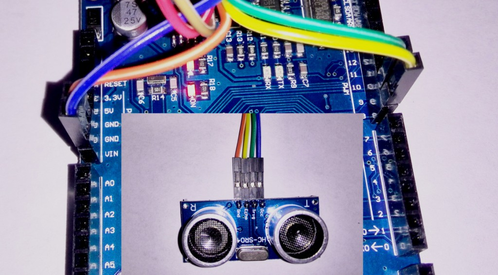 HC-SR04 Arduino connection