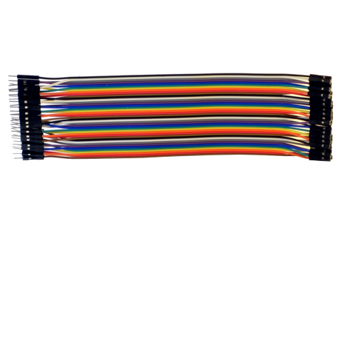 20cm 40p dupont cable male-female