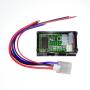 Alalisvoolu voltmeeter ja ampermeeter, 100V, 10A