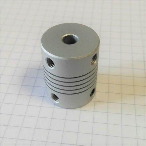 Coupler 5mm x 5mm (spriaalsidur)