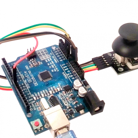 Joystick moodul Arduinoga