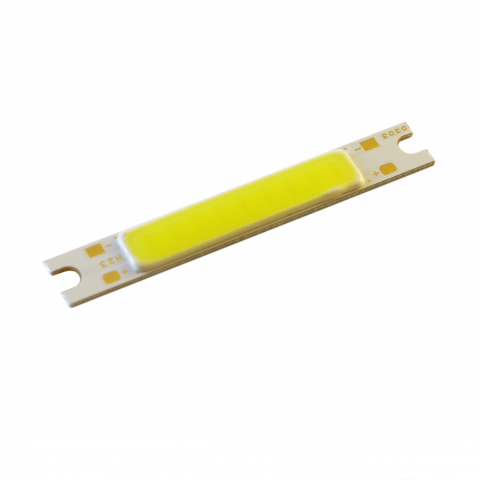 COB LED 3W Valge, piklik