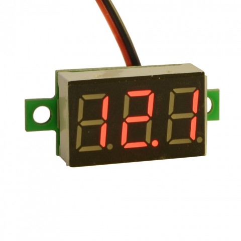 Digitaalne alalisvoolu voltmeeter 5V-32V