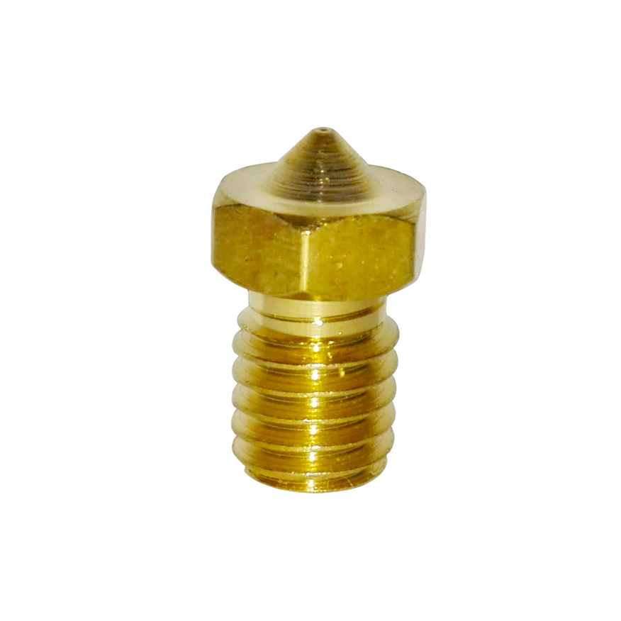 3D printeri düüs, 6mm keermega, sobib E3D v5/6 või J-head