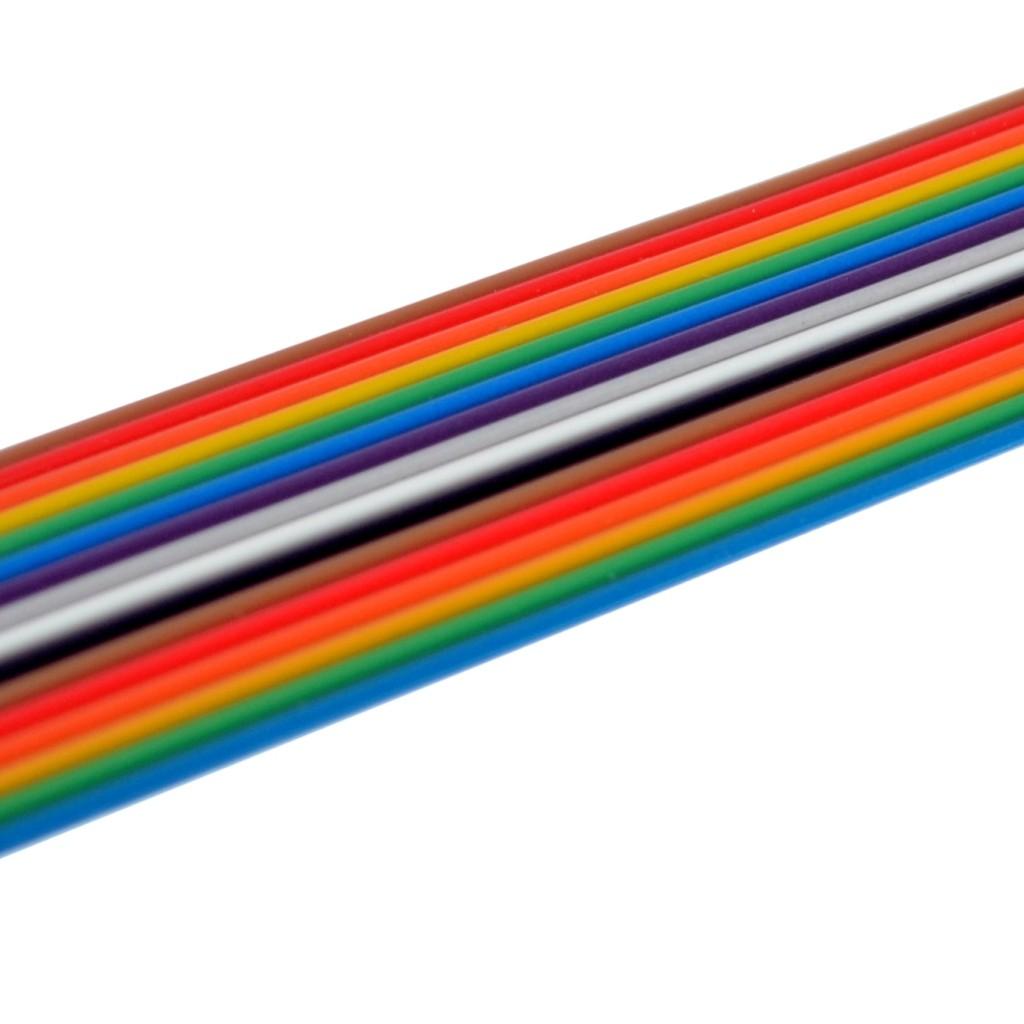 Värviline lamekaabel 16 ühendusega