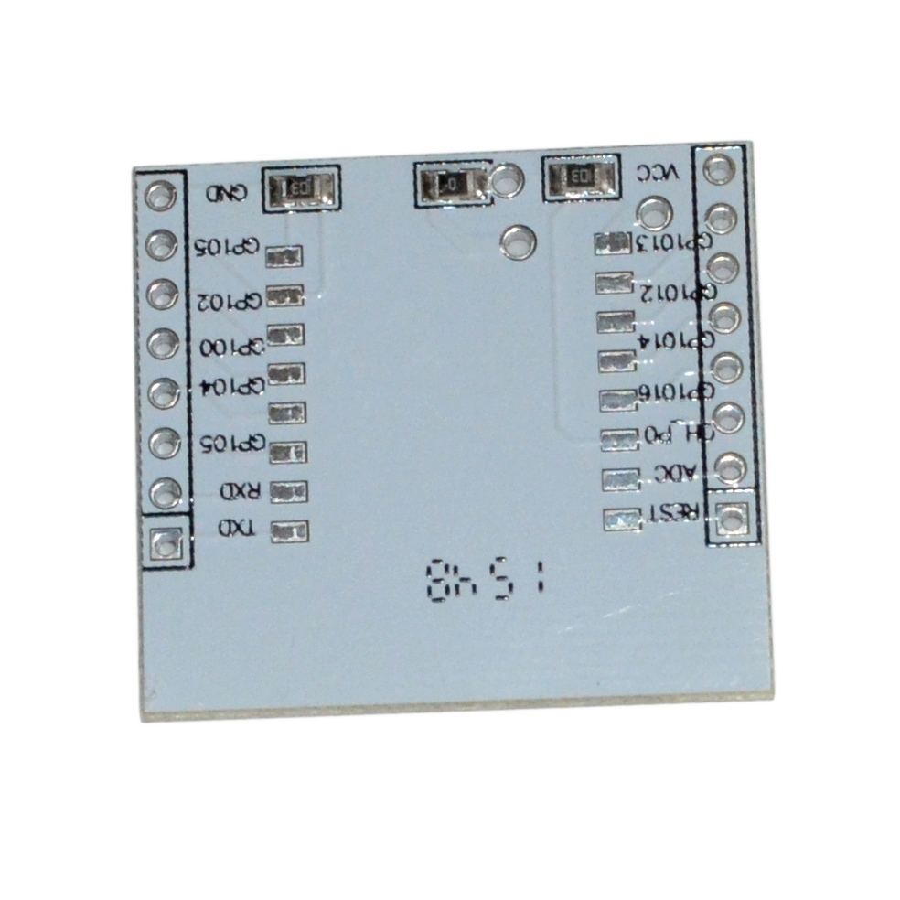 ESP8266 ESP-12 ja ESP-07 adapter, vaheplaat
