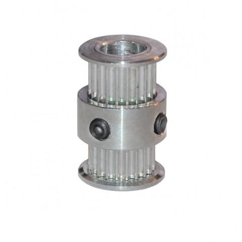 GT2-topelt-pulley-20-hammast-6mm-rihmale-8mm-vollile