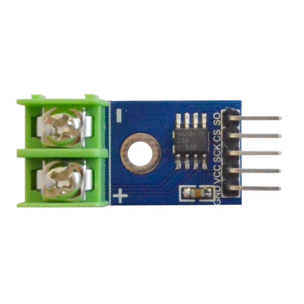 MAX6675 moodul K-type temperatuuriandurile (termopaarile)