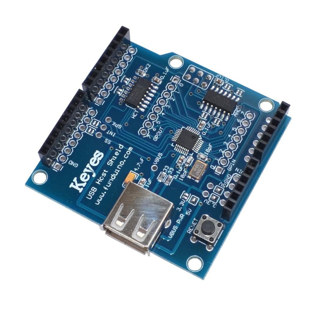 Arduino USB HOST laiendusplaat