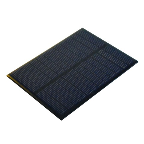 Mini päikesepaneel, 6V, 1.1W, 200mA, mõõdud 112mmx84mm