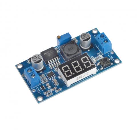 Voltmeetriga pingeregulaator LM2596 baasil.