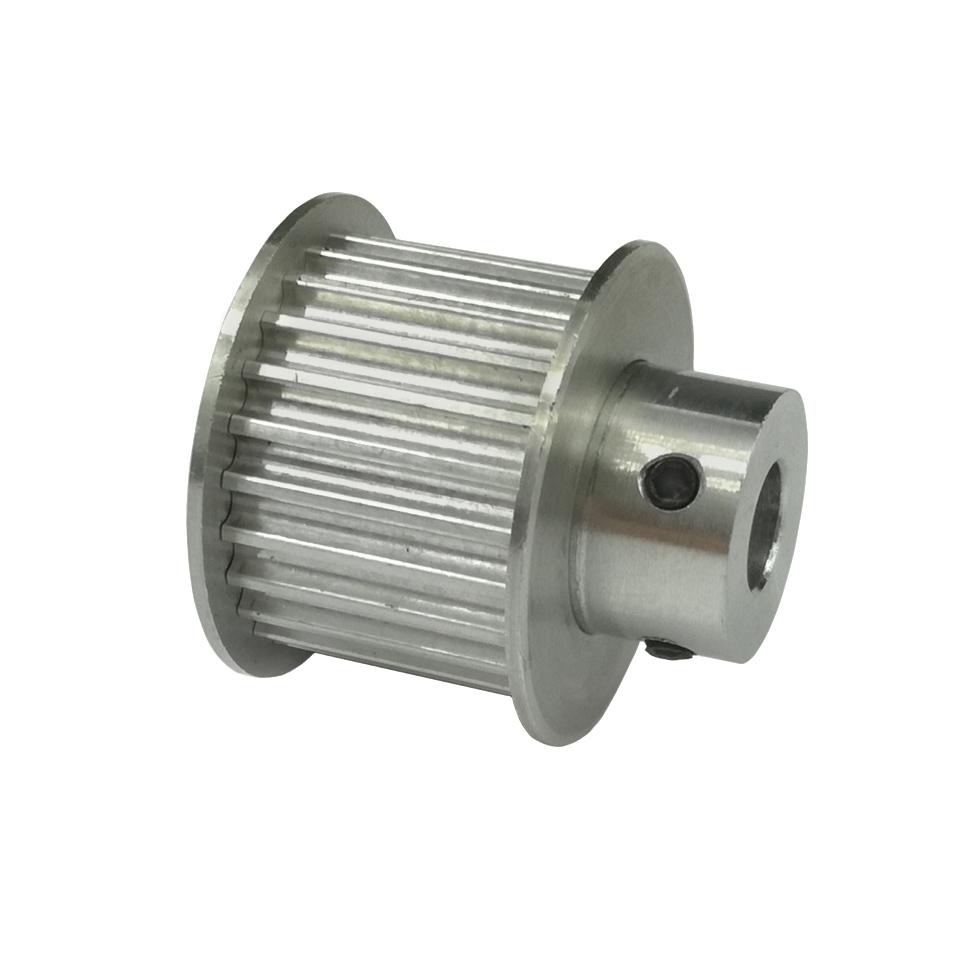 HTD3M pulley, 24 hammast, 6.35mm võllile ja 15mm rihmale