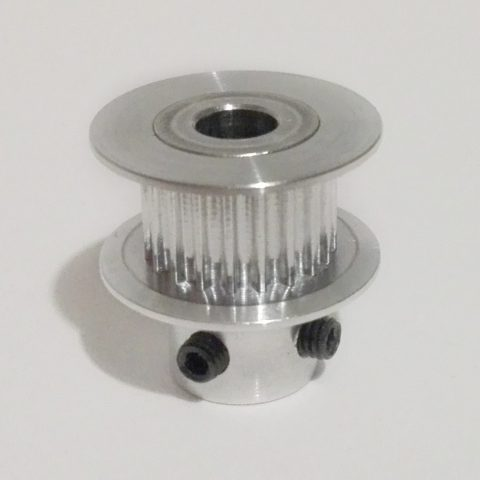 GT2 pulley, 20 hammast, 5mm võllile, 6mm rihmale