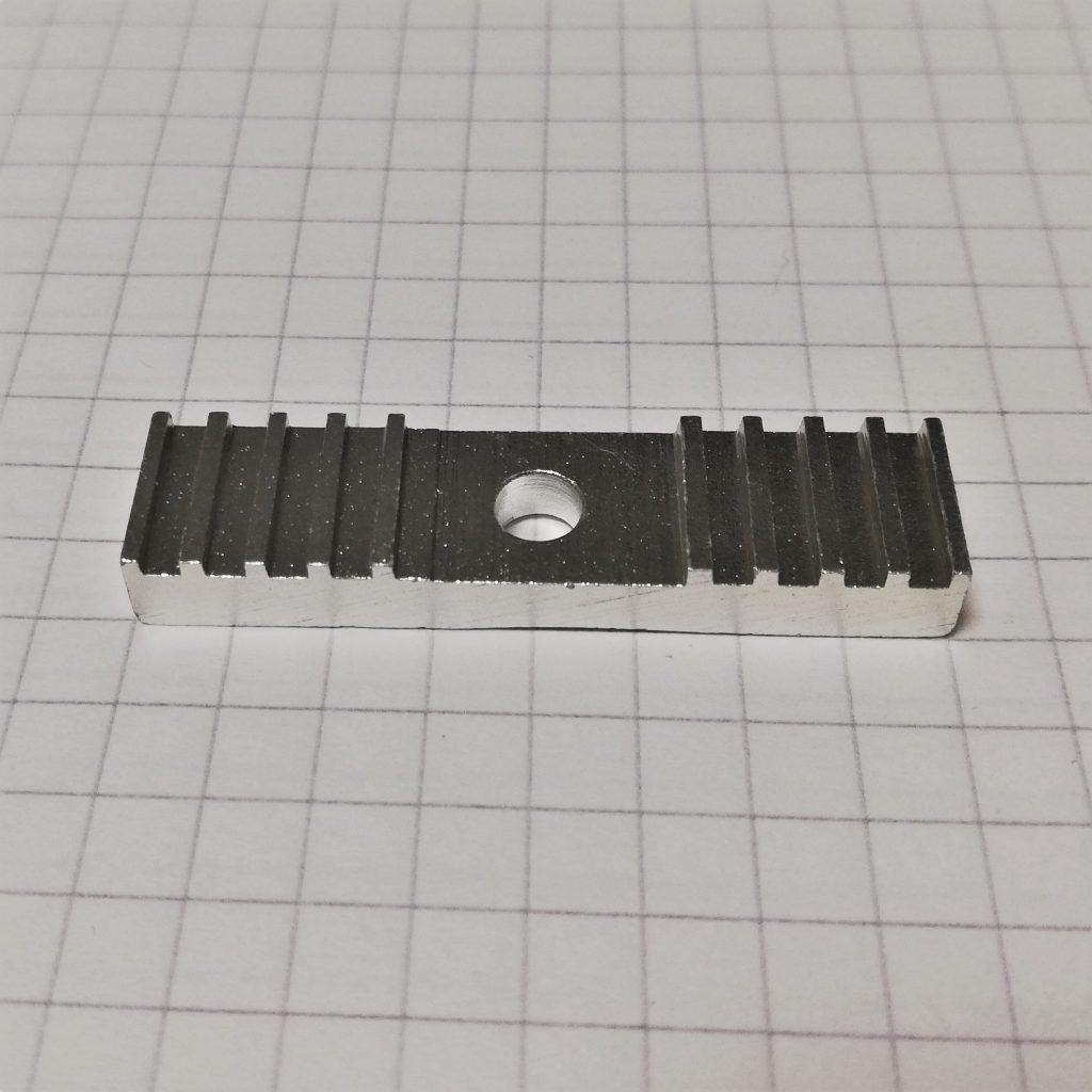 Hammasrihma fikseerimise klamber 3mm hambavahega, HTD3M rihmale